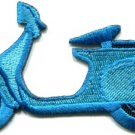 Motor scooter motorcycle cycle bike motorbike applique iron-on patch new S-368