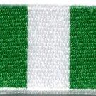 Flag of Nigeria Nigerian West Africa applique iron-on patch Medium S-390