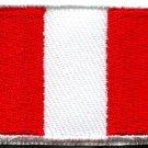 Flag of Peru Peruvian South America applique iron-on patch new Medium S-774