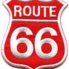 Route 66 retro muscle cars 60s americana USA applique iron-on patch new S-506
