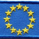 Flag of Europe European Union EU CoE applique iron-on patch new Medium S-652
