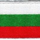 Flag of Bulgaria Bulgarian europe applique iron-on patch new Medium S-764