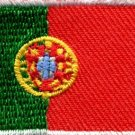 Flag of Portugal Portuguese europe applique iron-on patch Medium new S-113