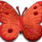 Butterfly insect boho hippie retro love peace applique iron-on patch new S-508