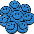 Flower power smiley face boho hippie retro love applique iron-on patch new S-717