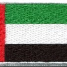 Flag of United Arab Emirates UAE Arabian applique iron-on patch new Med. S-845