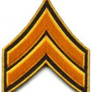 Army military insignia rank war biker retro applique iron-on patch new S-43