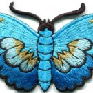 Butterfly insect boho hippie retro love peace applique iron-on patch new S-834