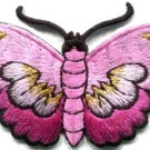 Butterfly insect boho hippie retro love peace applique iron-on patch new S-832