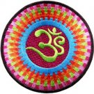 Aum om infinity hindu hinduism yoga indian trance applique iron-on patch G-63