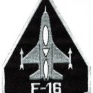 F-16 fighting falcon USAF air force jet aircraft applique iron-on patch S-617