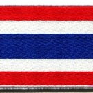 Flag of Thailand Thai applique iron-on patch new S-106