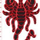 Scorpion biker tattoo Muay Thai applique iron-on patch BIG XL 7.63 x 11 in S-233