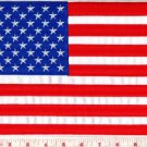 American flag U.S. United States applique iron-on patch BIG 7.75 x 11 in. S-1040