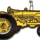 Tractor crawler plow farm truck retro applique iron-on patch new S-1084 WORLDWIDE DELIVERY IS FREE!