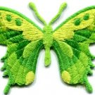 Butterfly insect boho hippie retro love peace applique iron-on patch new S-650
