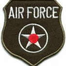 U.S. Air Force military insignia war biker retro applique iron-on patch S-1032