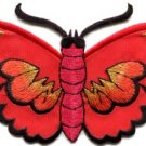 Butterfly insect boho hippie retro love peace applique iron-on patch new S-462