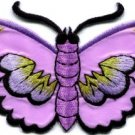 Butterfly insect boho hippie retro love peace applique iron-on patch new S-455