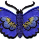 Butterfly insect boho hippie retro love peace applique iron-on patch new S-463