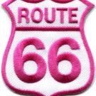 Route 66 retro muscle cars 60s americana applique iron-on patch new S-275