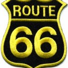 Route 66 retro muscle cars 60s americana USA applique iron-on patch new S-273