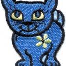 Kitty cat kitten retro applique iron-on patch new S-210
