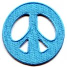 Peace sign hippie retro love weed embroidered applique iron-on patch new S-16