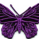Butterfly hippie retro 70s applique iron-on patch S-175