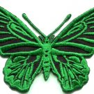 Butterfly hippie retro 70s applique iron-on patch S-173