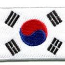 Flag of South Korea Korean asia embroidered applique iron-on patch