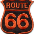 Route 66 retro muscle cars 60s americana USA applique iron-on patch new S-280