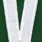 Letter V english alphabet language school applique iron-on patch new S-866