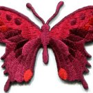 Butterfly insect boho hippie retro love peace applique iron-on patch new S-622