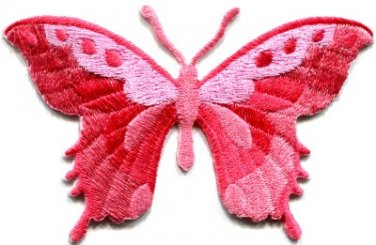Butterfly insect boho hippie retro love peace applique iron-on patch new S-627