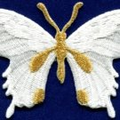 Butterfly insect boho hippie retro love peace applique iron-on patch new S-624