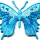 Butterfly insect boho hippie retro love peace applique iron-on patch new S-630