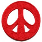Peace sign hippie retro boho flower power weed love applique iron-on patch S-18