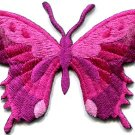 Butterfly insect boho hippie retro love peace applique iron-on patch new S-626