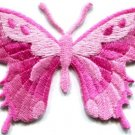 Butterfly insect boho hippie retro love peace applique iron-on patch new S-625