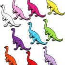 Lot of 10 brontosaurus jurassic dinosaur lizard kids appliques iron-on patches