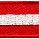 Flag of Austria Austrian Vienna Europe sew applique iron-on patch S-1008