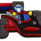 Sports car racing race exotic formula one 1 retro applique iron-on patch S-649