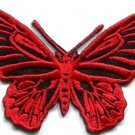 Butterfly insect boho hippie retro love peace applique iron-on patch new S-177
