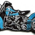 Motorcycle bike biker scoot cruiser chopper applique iron-on patch new S-999