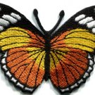 Butterfly insect boho hippie retro love peace applique iron-on patch new S-511