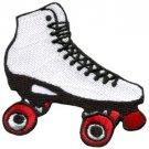 Roller skates skating retro kids boho sports applique iron-on patch new S-52
