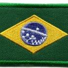 Brazilian flag Brazil Rio South America applique iron-on patch Medium new S-107