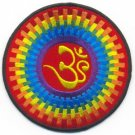 Aum om infinity hindu hinduism yoga indian trance applique iron-on patch new T-8