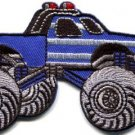 Monster truck 4 X 4 pickup auto applique iron-on patch new S-1129 FREE SHIPPING WORLDWIDE!